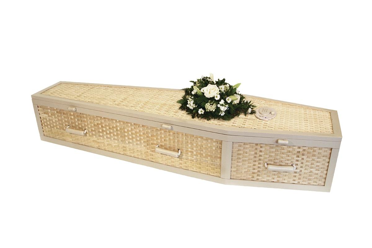 Premium Bamboo Coffin