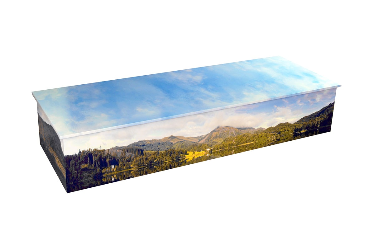 Personalised Picture Coffins - Reflections Casket